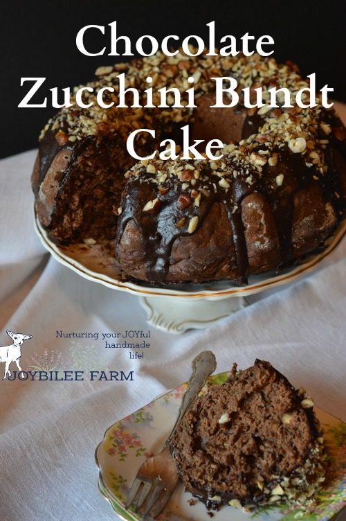 What do I do with all that zucchini? Zucchini noodles, zucchini-potato latkes, dehydrated-grated zucchini for winter soups and thicker tomato sauce, zucchini lemon bundt cake, zucchini blueberry loaf, and this family favorite chocolate zucchini cake recipe!