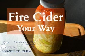 Fire Cider Your Way