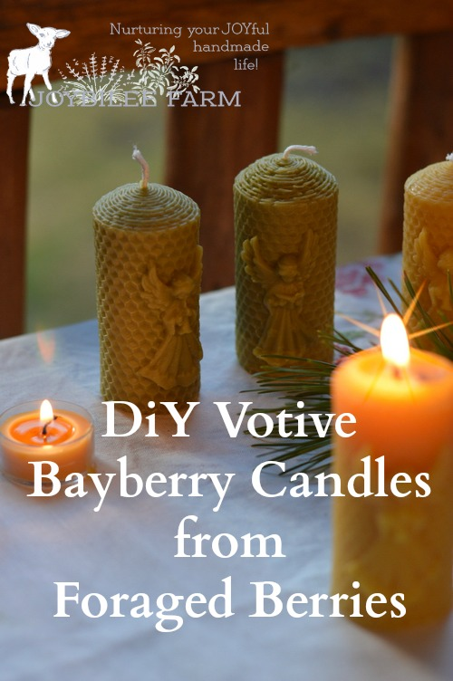 """A bayberry candle burnt to the socket brings food to the larder and gold to the pocket."" New England Proverb"