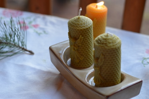 DiY Bayberry Candle from Foraged Berries | Joybilee® Farm