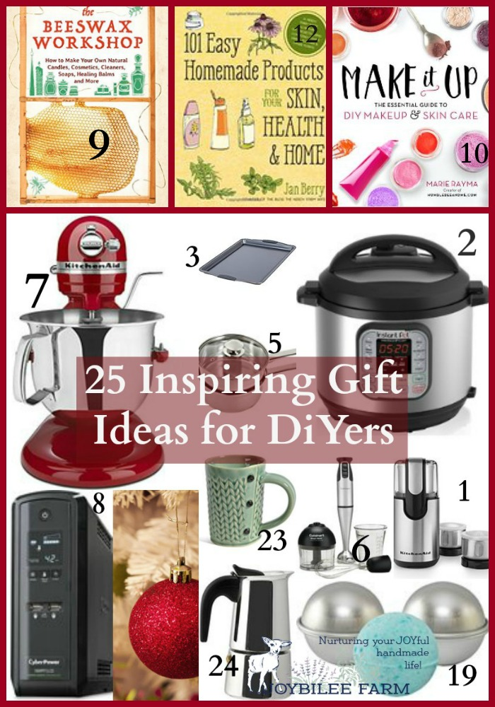 the most inspiring gift ideas for DiYers and Creatives this season