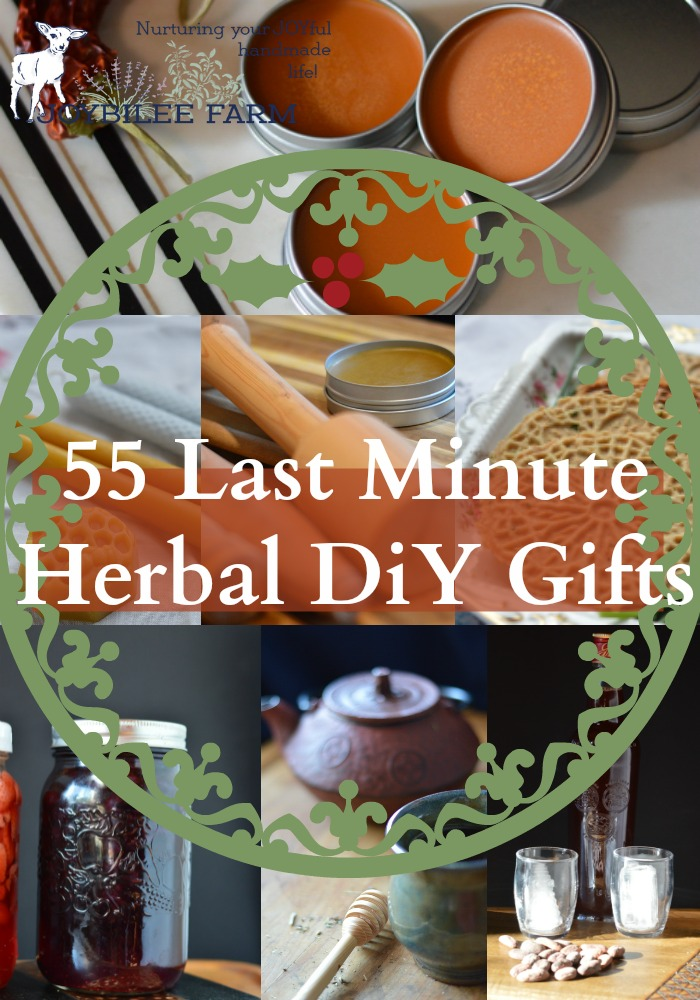55 Last Minute Herbal Diy Gifts Joybilee Farm Diy Herbs
