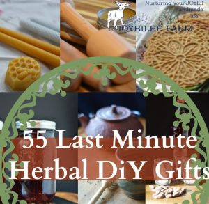 55 Last Minute Herbal DiY Gifts