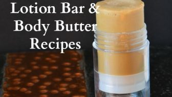 Making Substitutions to Lotion Bar and Body Butter Recipes