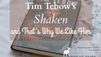 Tim Tebow's Shaken and That's Why We Like Him
