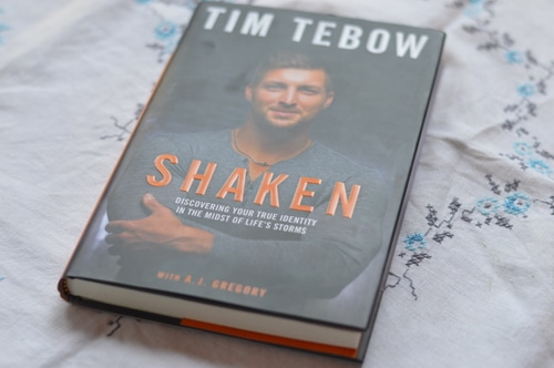 "I saw ""Shaken, Discovering Your True Identity In The Midst Of Life's Storms"" by Tim Tebow, I thought,""who is this guy?""  Shaken is part of Tim Tebow's testimony, as a quarterback who joined the NFL out of college.  Winner of the Heisman's trophy in 2007, he was drafted to the Denver Broncos in 2010.  He was traded to the New York Jets (2012) and then the New England Patriots (2013).  The Patriots dropped him in the preseason.  In 2015 he played with the Philadelphia Eagles but was dropped in the pregame shuffle.  Shaken tells the story of his disappointment and his enduring faith."