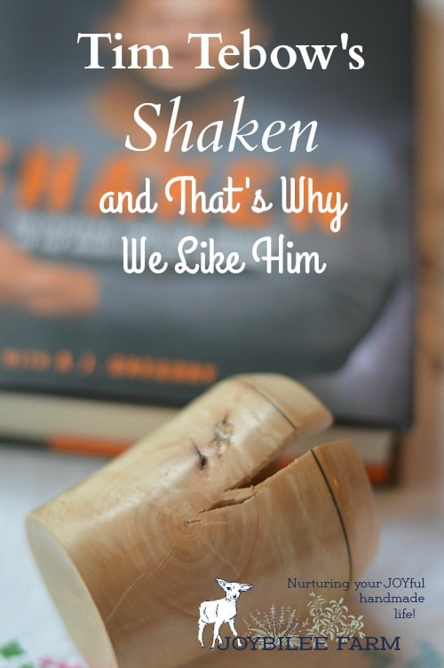 """I saw """"Shaken, Discovering Your True Identity In The Midst Of Life's Storms"""" by Tim Tebow, I thought,""""who is this guy?""""  Shaken is part of Tim Tebow's testimony, as a quarterback who joined the NFL out of college.  Winner of the Heisman's trophy in 2007, he was drafted to the Denver Broncos in 2010.  He was traded to the New York Jets (2012) and then the New England Patriots (2013).  The Patriots dropped him in the preseason.  In 2015 he played with the Philadelphia Eagles but was dropped in the pregame shuffle.  Shaken tells the story of his disappointment and his enduring faith."""