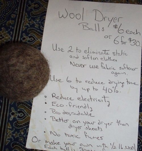 wool dryer balls why