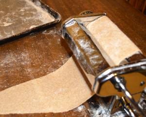 Pasta machine matzah