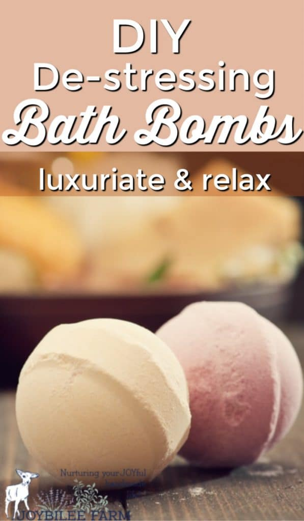 After a stress-filled day, a hot bath can be just the thing to help you relax. Make de-stressing DIY bath bombs and enjoy the escape.