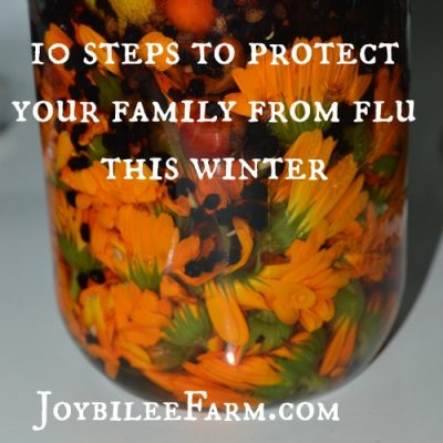 10 steps to protect your family from flu this winter