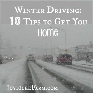 Winter driving on rural highways – 10 tips to get you home safely.