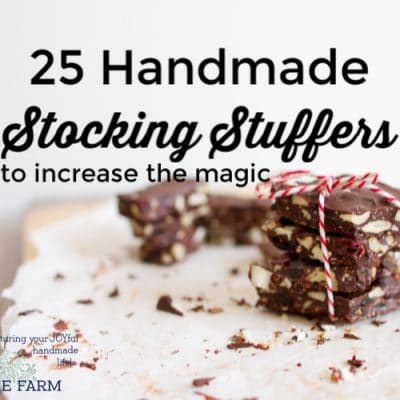 25 Handmade Stocking Stuffers to Increase the Magic