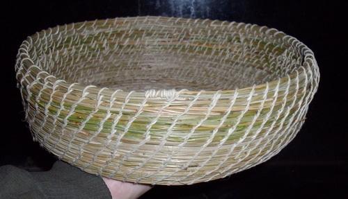 Pine needle basket 7