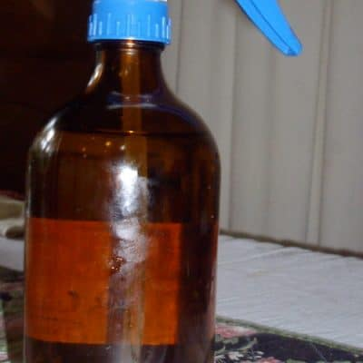 Effective homemade herbal mosquito repellent