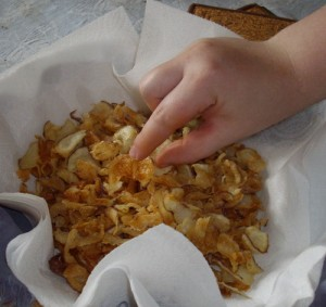 Homemade Healthy Potato Chips