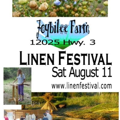 Linen Festival 2012 on Saturday August 11