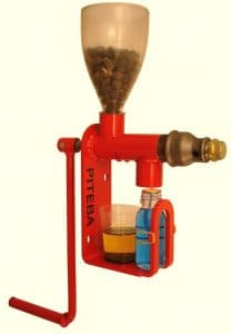 Extracting oil from flax seed and other vegetable seeds