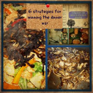 6 strategies for winning the dinner war on your homestead