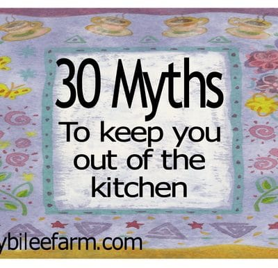 30 myths that keep you from cooking from scratch