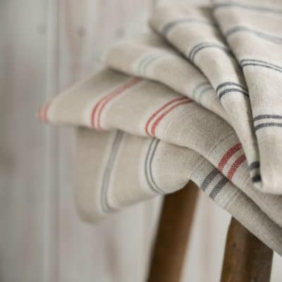 Hunting for Vintage Linen Textiles to Make Your Home More Cosy