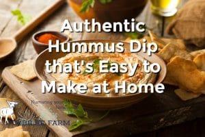 Authentic Israeli Hummus Recipe
