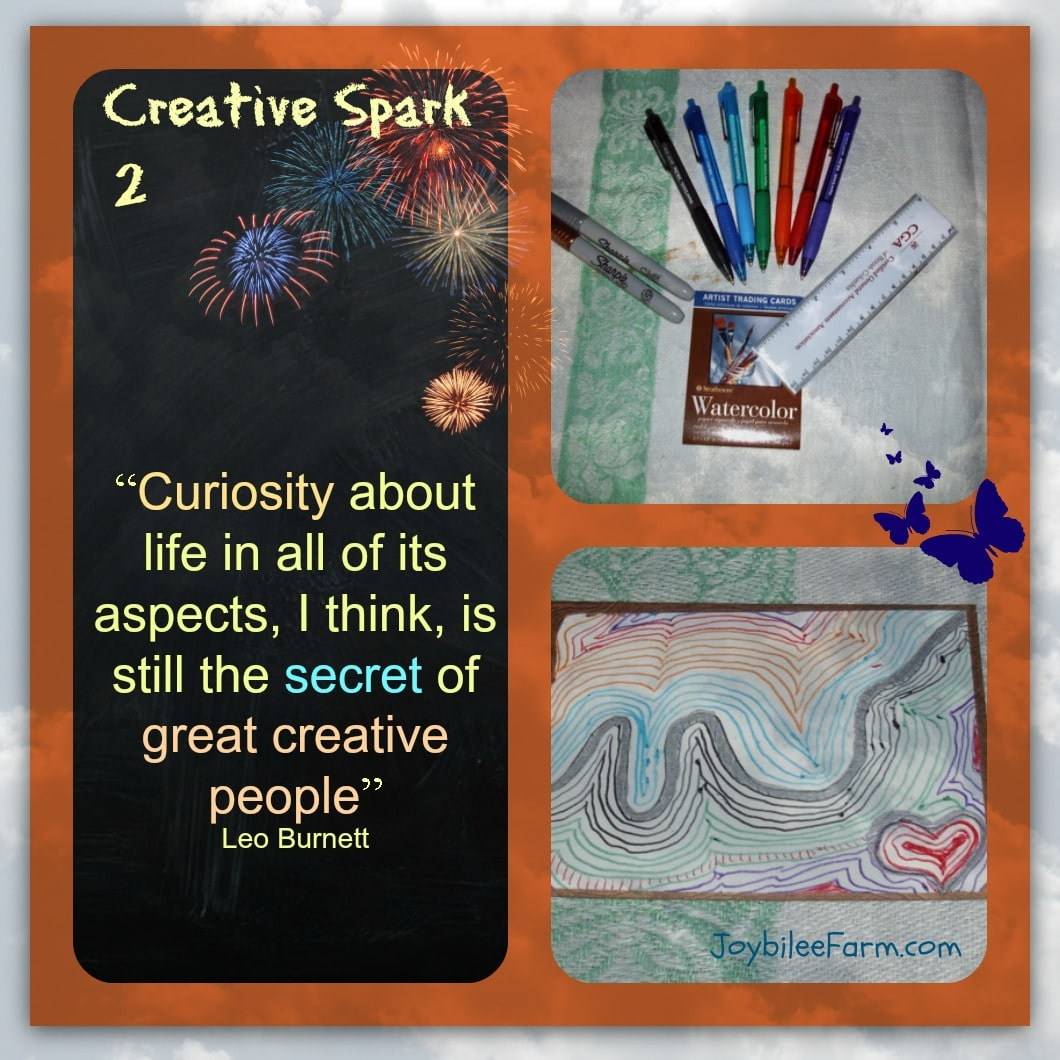 30 Days of Creative Sparks – Day 2