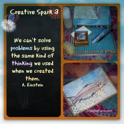 Creative Spark Day 3 – Swimming in Creative Joy