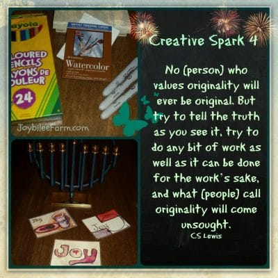 Creative Spark Day 4 – A word