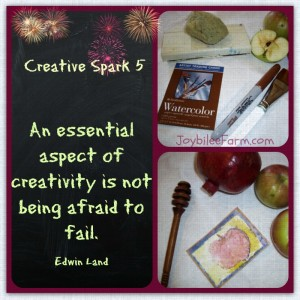 Creative Spark Day 5 — stamping expressions