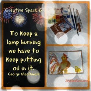Creative Spark 6 — critters