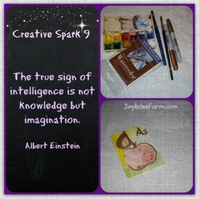 Creative Spark 9 – Illumined Letter
