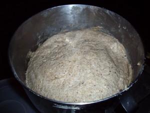 rising moist dough