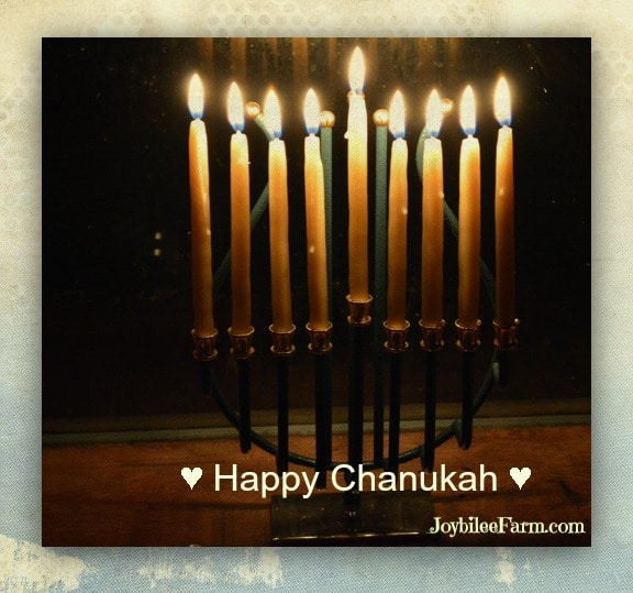 Making hand dipped beeswax Chanukah candles for your Chanukah menorah