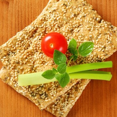 Healthy, Homemade Flax Crackers