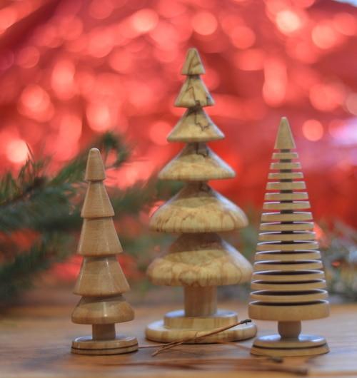 Christmas Trees turned