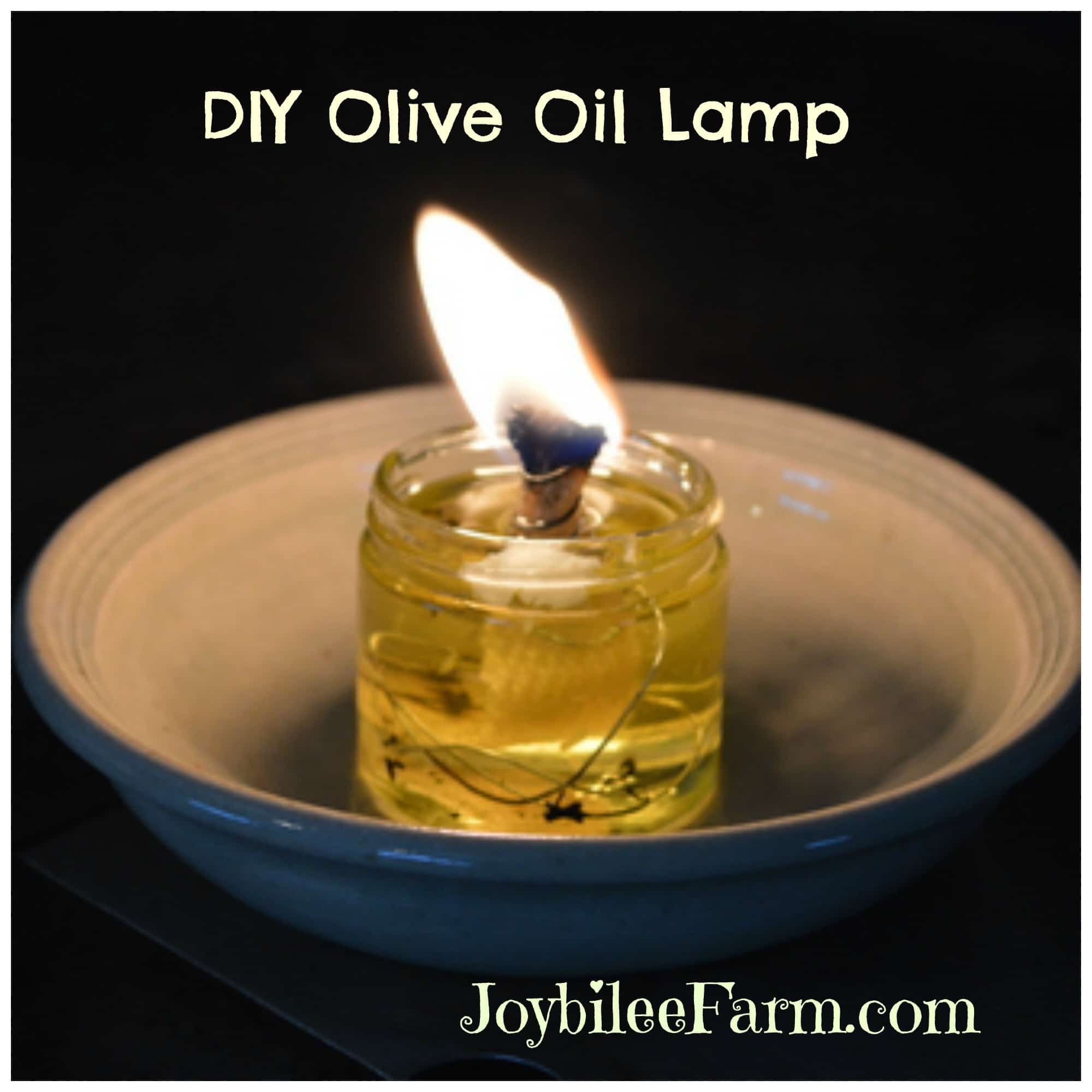 DIY Olive Oil Lamp, the lost art you need to know | Joybilee