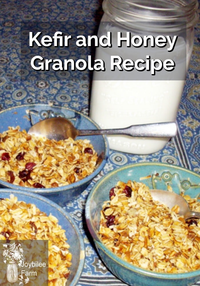 Kefir and Honey Granola Recipe