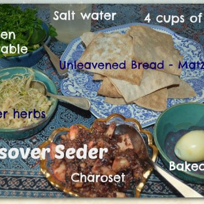 The Passover Seder with recipes