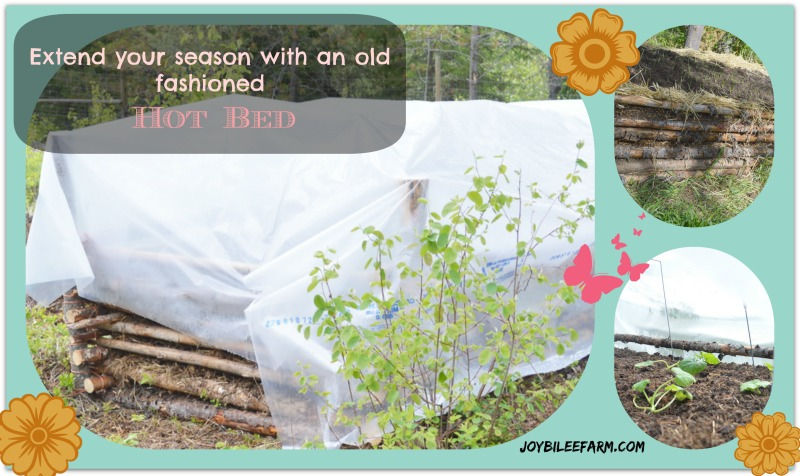 "Extend your season with an old fashioned ""Hot Bed"""