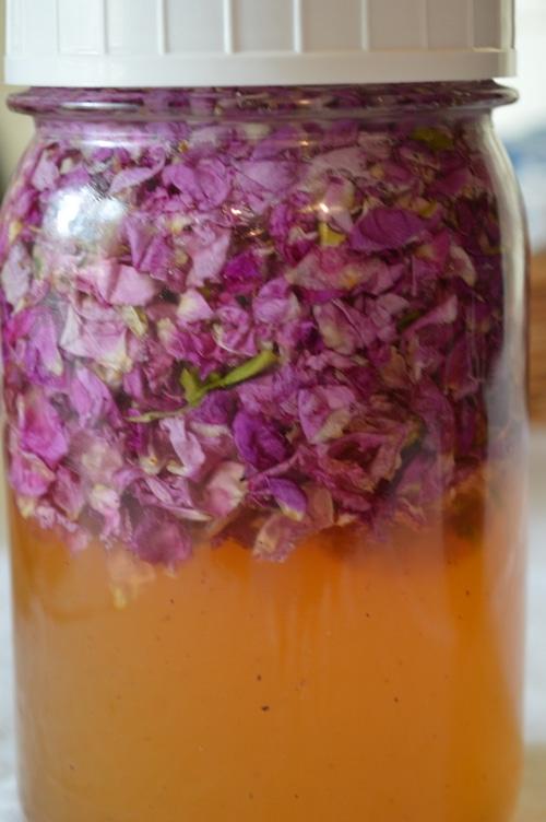 Rose honey