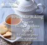 10 Cookie Baking Secrets that Grandma Knew, That Made Her Famous in the Neighborhood