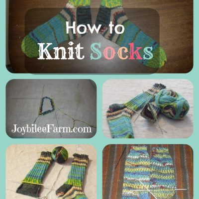 Fibre Friday: How to knit socks