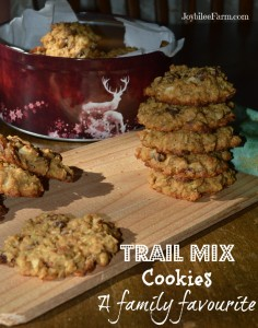 Trail Mix Cookies: A family favorite