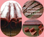 How to make crab apple fruit leather - Joybilee Farm