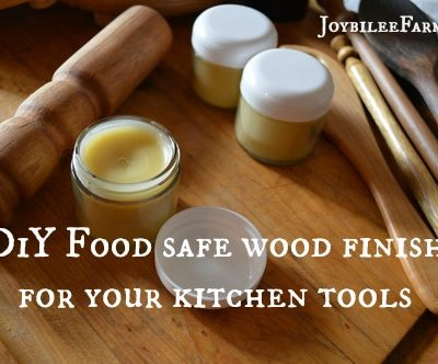 DIY Food Safe Wood Finish and Conditioner for Your Cutting Boards