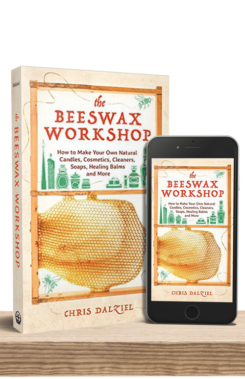 Nut-free Polish with Beeswax for Wood Utensils, Cutting