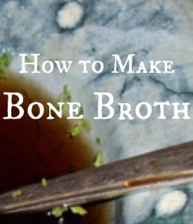 How to make bone broth the easy way