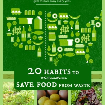 20 habits to save food from waste — #NoFoodWasted — Joybilee Farm