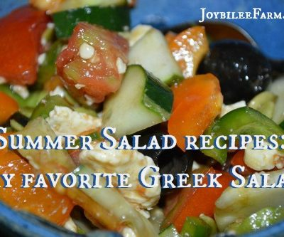 Summer Salad recipes: My favorite Greek Salad